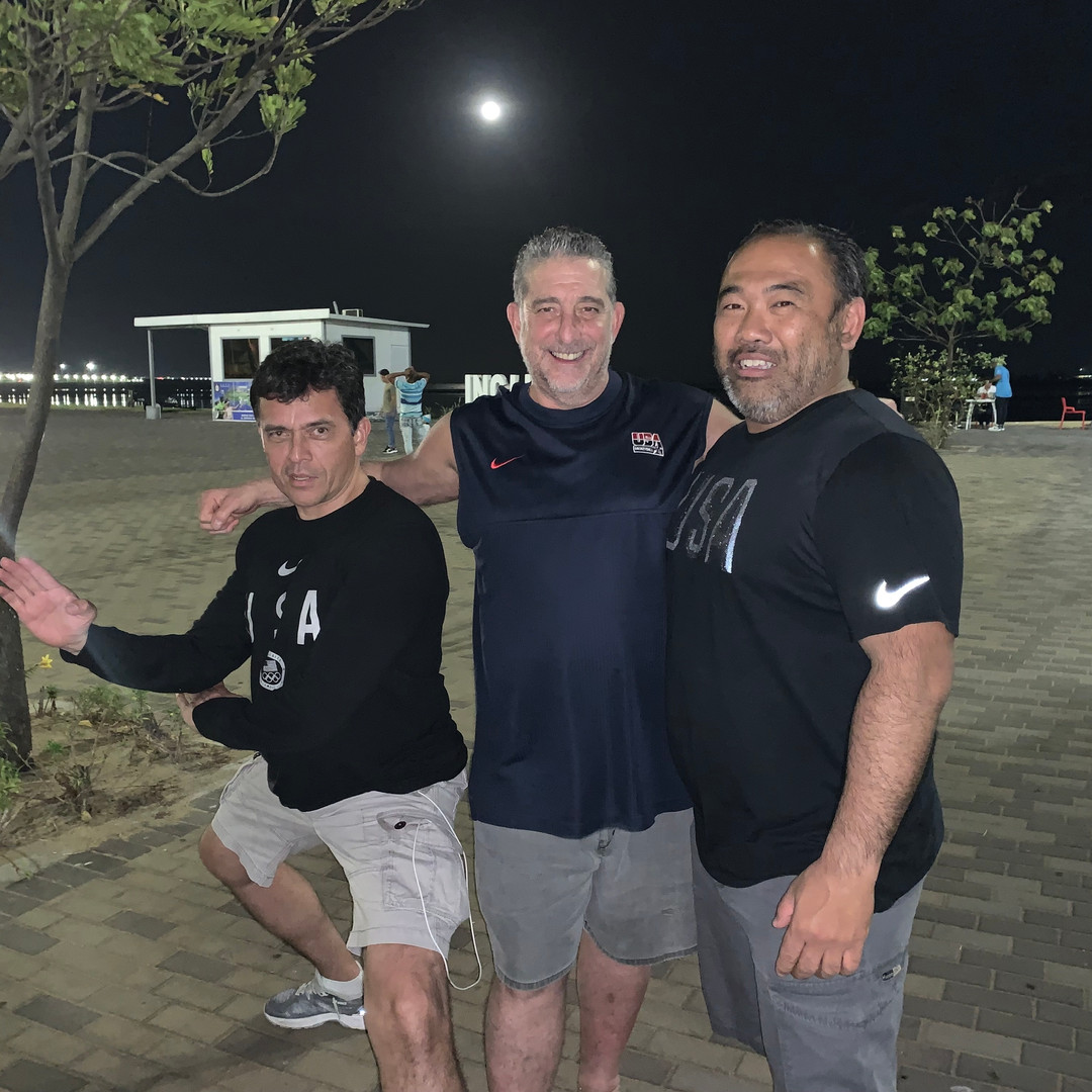 2019 Pan Am Champs_Sensei and other coac