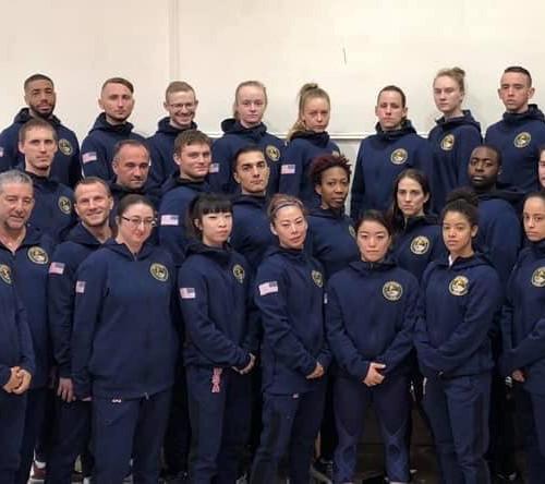 2019 Pan Am Champs_Team Shot in Jumpsuit