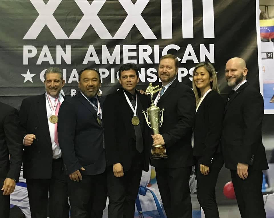 2019 Pan Am Champs_Coaches and Trophy.JP