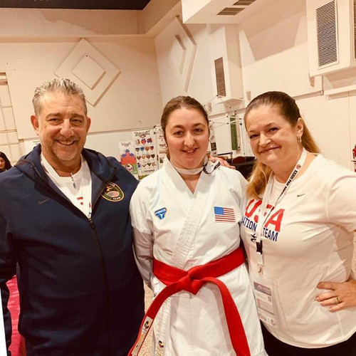 2019 Pan Am Champs_Sensei with Jamie and