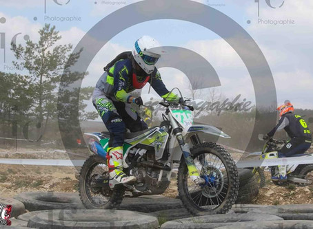 Vincent Rouquart Husqvarna 250 FC 2018 - Essoyes