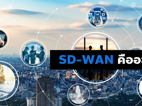 SD-WAN คืออะไร?