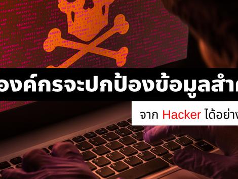 องค์กรจะปกป้องข้อมูลสำคัญจาก Hacker ได้อย่างไรบ้าง