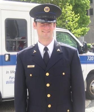 Avi in his Paramedic Uniform prior to his stroke
