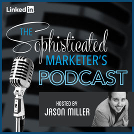 The Sophisticated marketer's Podcast Logo
