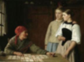 Fortune teller by Albert Anker.jpg