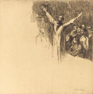 Theophile Steinlen Le Prophete, 1902.jpg