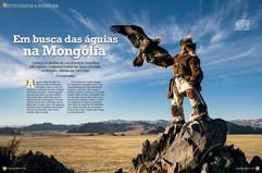 Em busca das águias na Mongólia