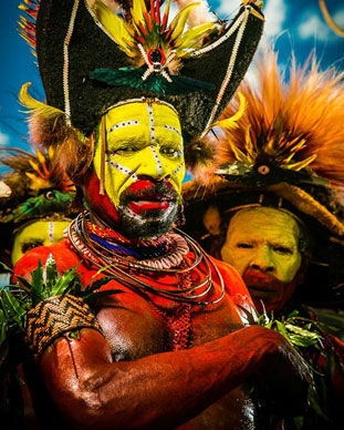 Expedição fotográfica Papua Nova Guiné e