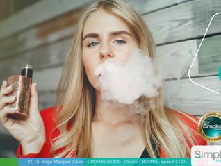Cigarro eletrônico faz mal aos dentes?