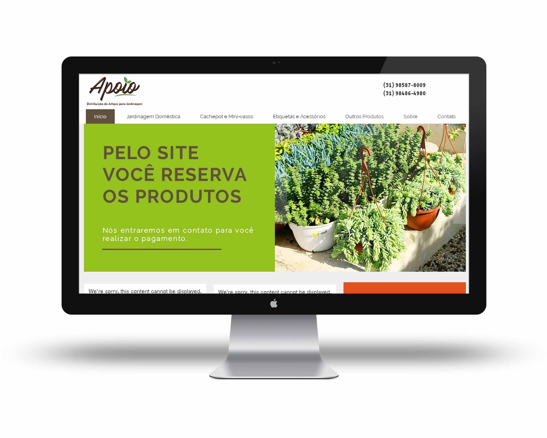 Site Apoio Jardinagem