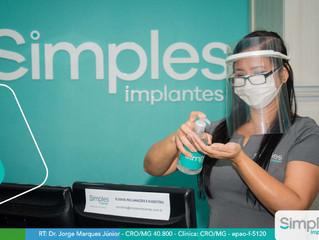 Medidas preventivas da Simples Implantes  durante a COVID-19