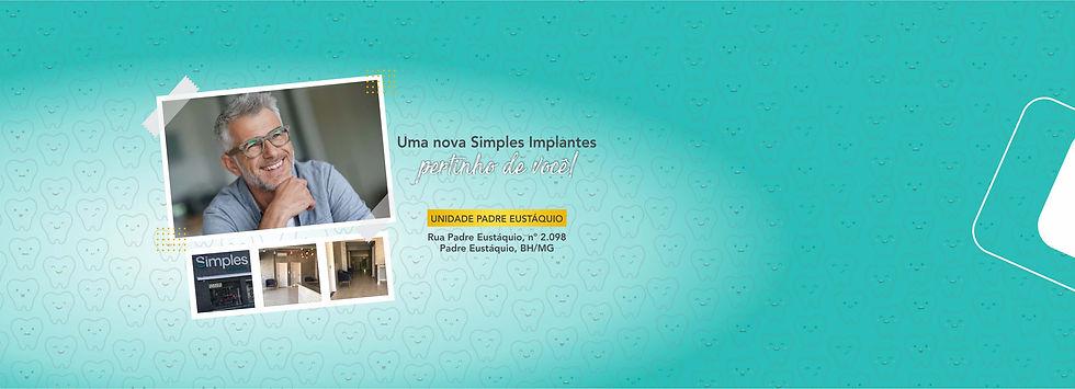 Landing Simples Implantes - Padre Eustáq