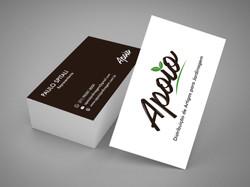 Cartão de Visita Apoio Jardinagem