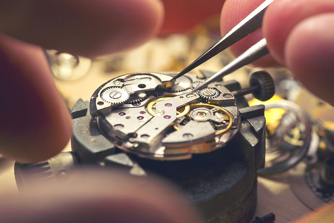 Working On A Mechanical Watch.jpg