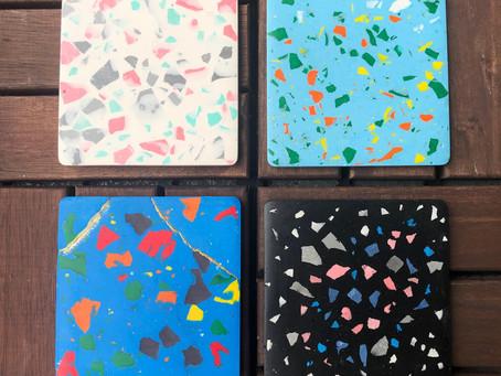 Jesmonite Terrazzo Coasters