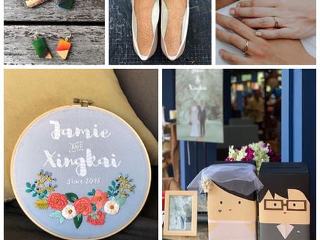 5 Hand-made things at my Wedding