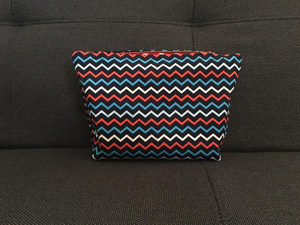 Lined zipped bag 2