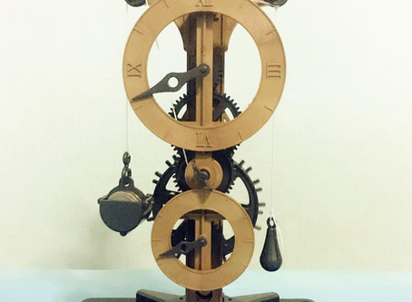 Clock (no batteries needed)