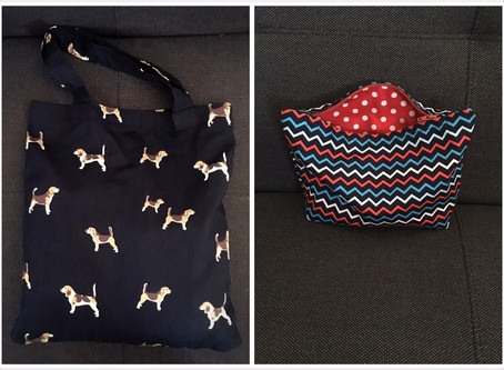 Tote Bag + Lined zipped bag