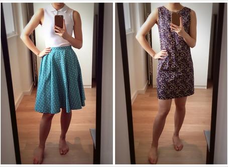Circle Skirt + Shift Dress