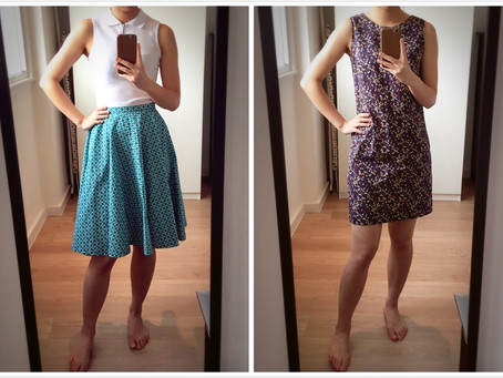 Circle Skirt + Shift Dress