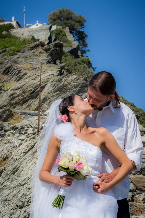 Skopelos wedding