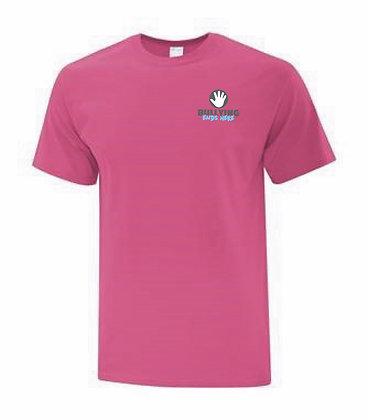 Be Someone's Hero Pink Shirt