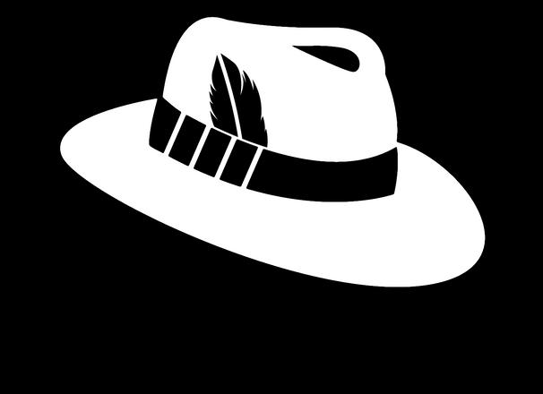 The White Hatter Logo