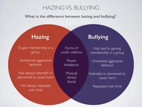 Hazing vs. Bullying