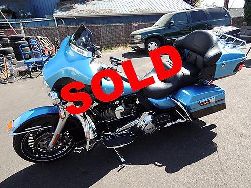 2011 Harley Davidson FLHTK Ultra Limited
