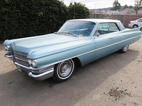 1963 Cadillac DeVille Base Sedan 4-Door 6.4L 390