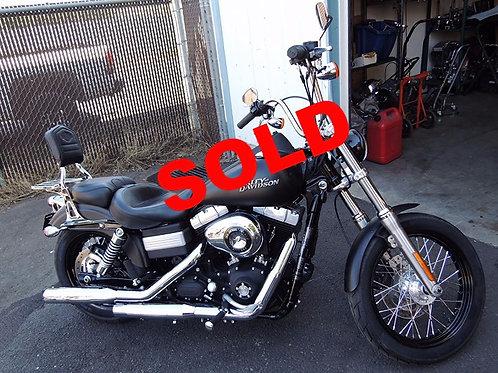 2011 Harley Davidson FXDB Dyna Street Bob