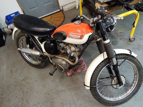1955 & 1965 Triumph Mountain Cub Pair