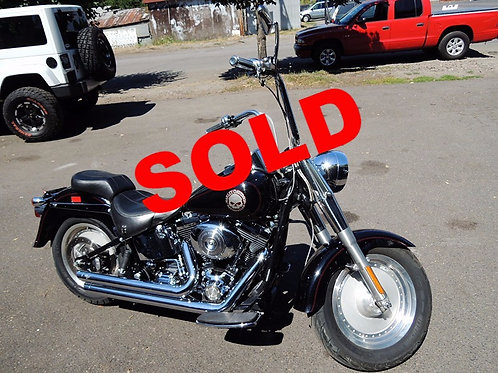 2002 Harley Davidson FLSTFI Fatboy Softail