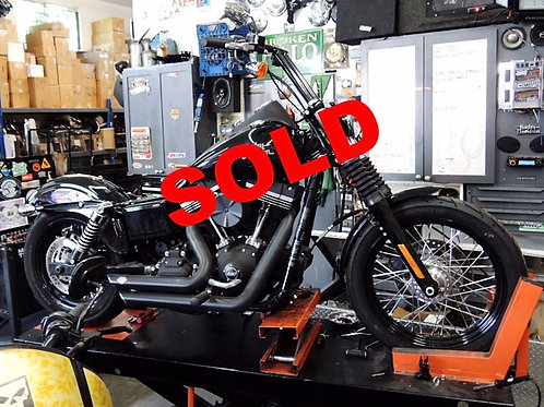 2014 Harley Davidson FXDB Dyna Street Bob