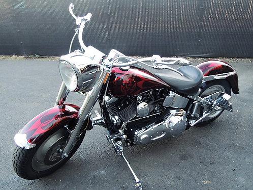 2001 Harley Davidson FLSTF Custom Softail Fatboy