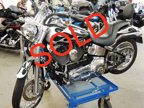 2002 Harley Davidson FXSTD Softail Deuce