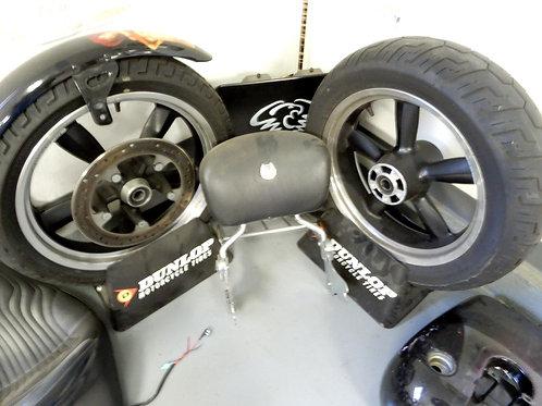 Harley Davidson FLD Wheel & Tire Set Dyna Switchback OEM