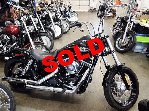 2013 Harley Davidson FXDB Dyna Street Bob