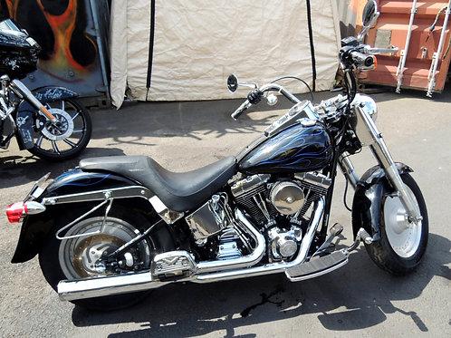 2002 Harley Davidson FLSTF Fatboy Softail