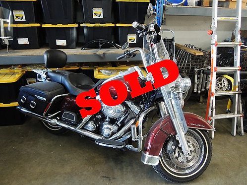 2008 Harley Davidson FLHRC Road King Classic