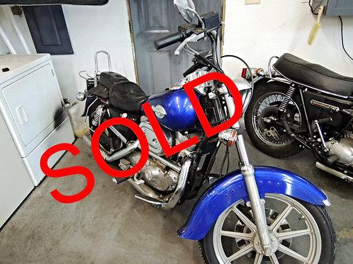 1989 Harley Davidson XLH883H Sportster