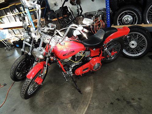 1973 Harley Davidson Shovelhead Matching #'s Resto