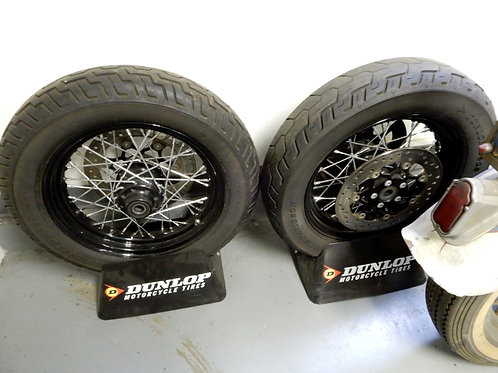 Harley Davidson FLS Wheel & Tire Set Softail Slim OEM