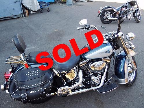 2002 Harley Davidson FLSTC Heritage Softail