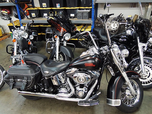2008 Harley Davidson FLSTC Heritage Softail