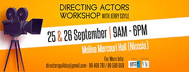 DIRECTING ACTORS WORKSHOP with Jerry Coyle