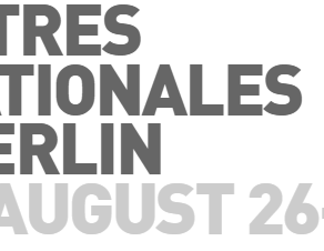 Extended Deadline: Call for entries for the next Rencontres Internationales Paris/Berlin 2021