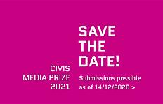 Deadline Extension: CIVIS Media Prize 2021